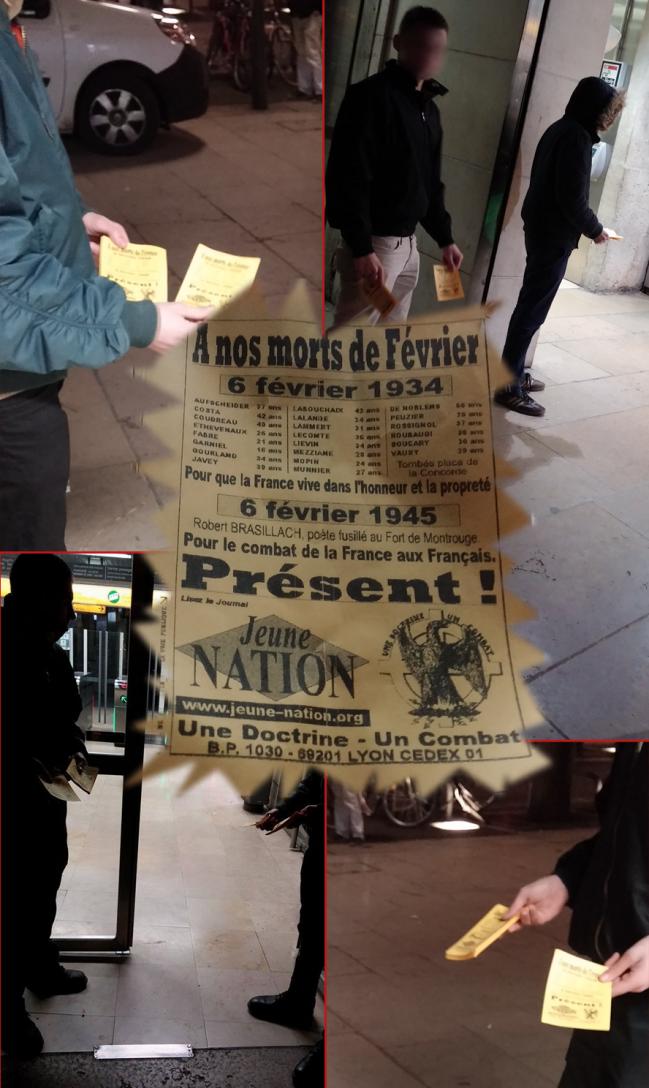tractage_lyon nationaliste - 2015