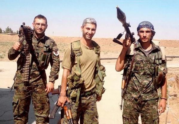 Johan Cosar en Syrie.
