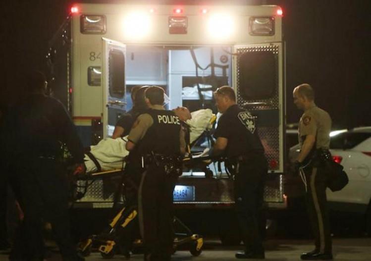 Le policier blessé, victime du racisme antiblanc généralisé aux États-Unis