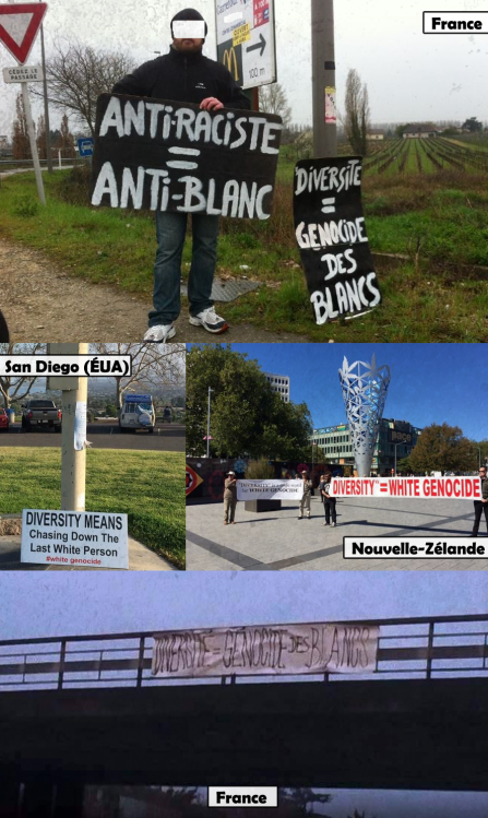 France, Nouvelle-Zélande, États-Unis : les Blancs se lèvent contre le racisme antiblanc.
