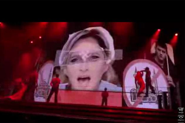 Madonna-Marine-Le-Pen-croix-gammee