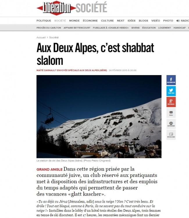 République juive du Mont-Blanc laïcité occupation