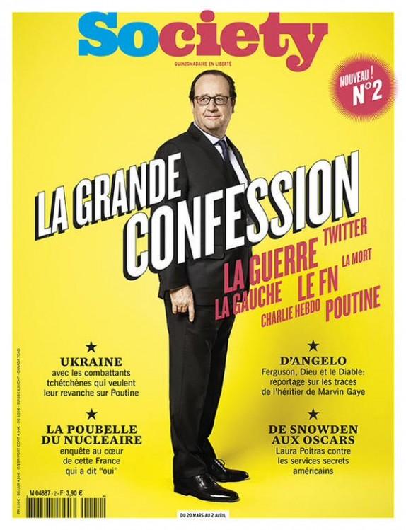 La Une dont François Hollande est très fier.