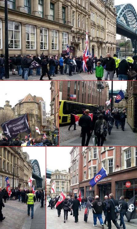 white march man-Newcastle