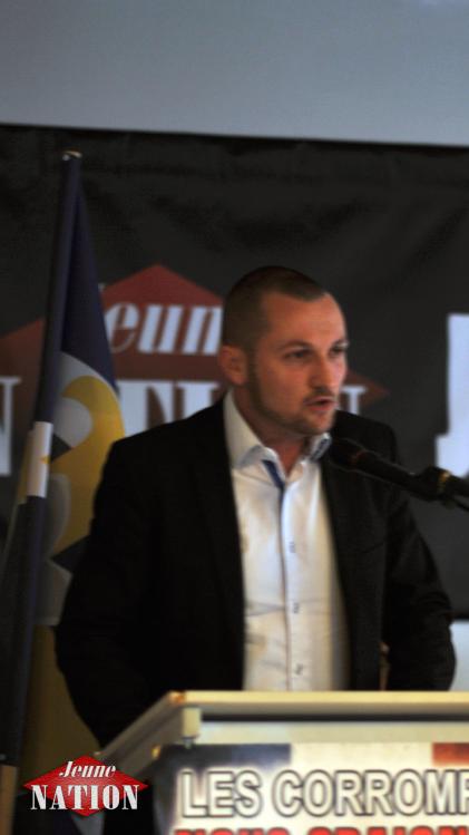 Johan Livernette lors du Forum de la Nation 2015