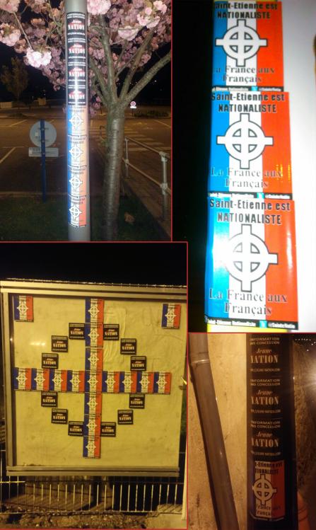collage saint-etienne nationaliste