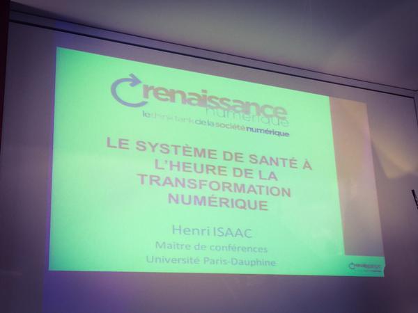 Henri Isaac : Université Paris-Dauphine, santé numérique