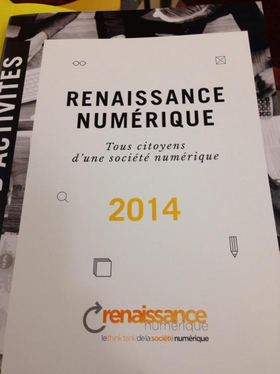 Rapport 2014 de 'Renaissance numérique'