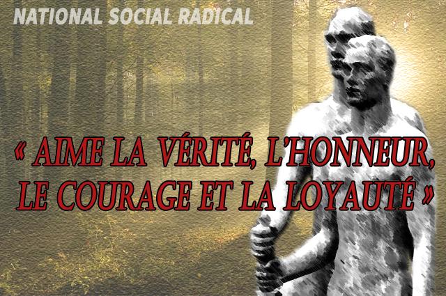vérité honneur courage loyauté-nsr