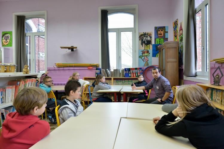 «France médiation» dans une école de France le 18 novembre 2014