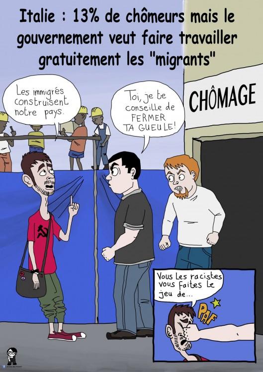 L'Artiste mal pensant - Chômage et invasion