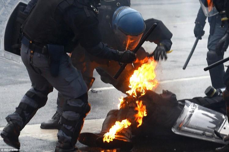 policier milan