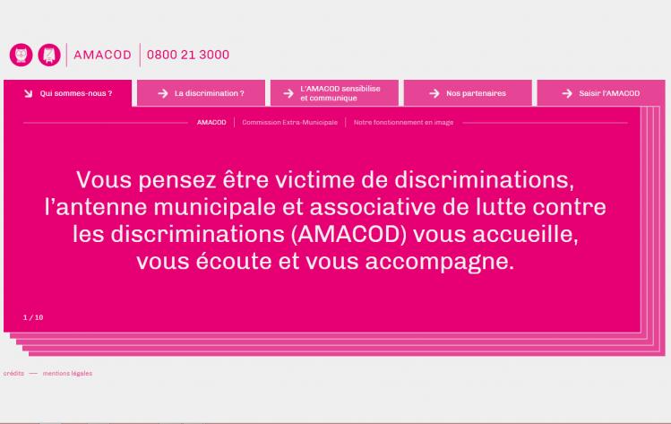 AMACOD Dijon discriminations