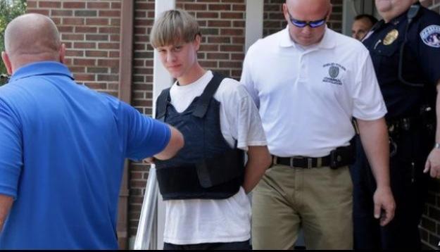 Arrestation de Dylann Roof
