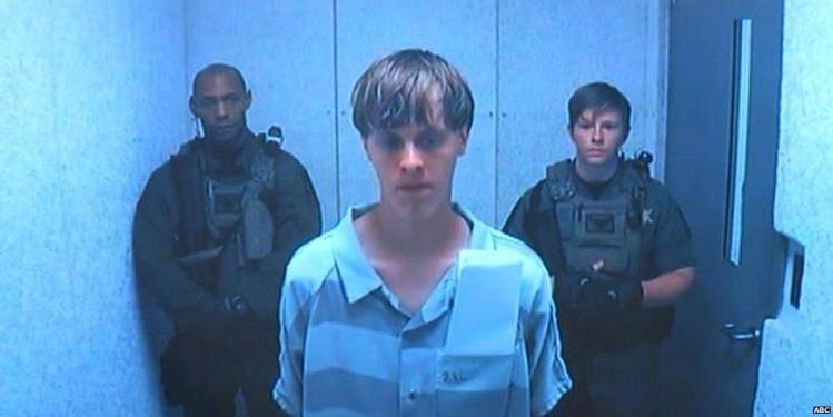 Dylann Roof après son arrestation