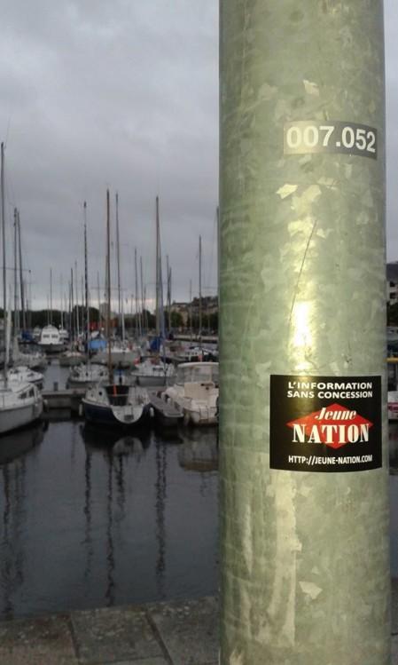 JEUNE NATION A CAEN – merci à nos amis de Normandie !