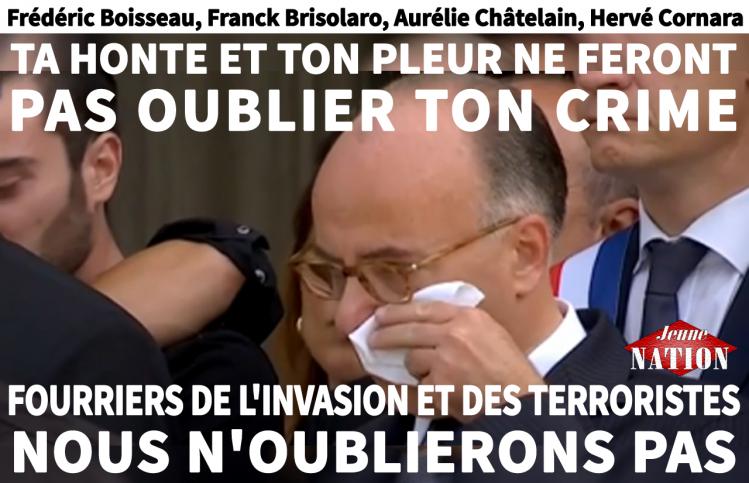 Bernard Cazeneuve pleurs larmes-