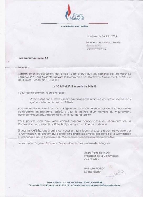 Jean-Marc Azalier - fn exclision