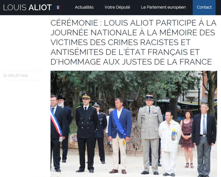 Le Juif Louis Aliot s'associe aux manifestations antifrançaises du gouvernement