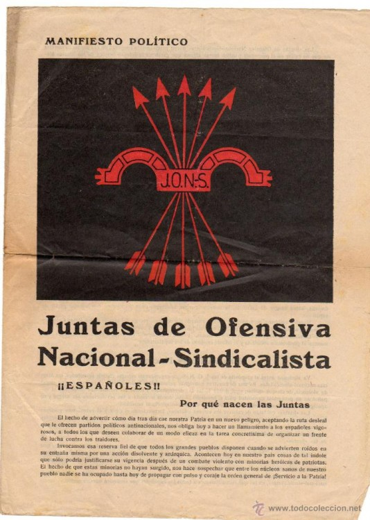 Manifeste des JONS, 1931