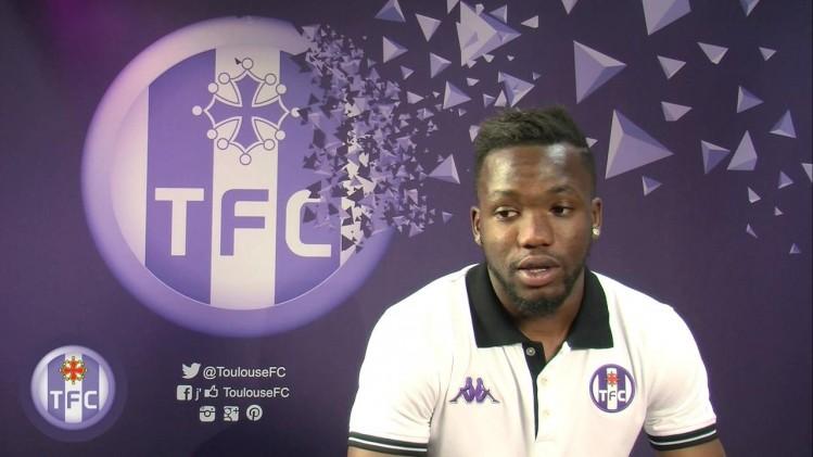 Tongo Doumbia lors de sa présentation sur la chaîne du TFC