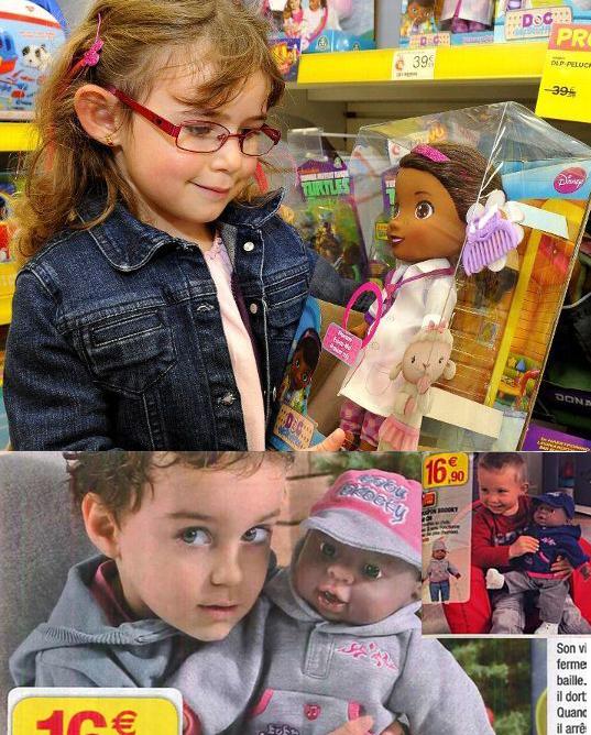 Des poupées noires pour les petites filles noires. Mais chez les Européens, le torchon gauchiste Libération se félicitera que ce soit les garçons qui jouent avec des poupées. Noires bien sûr. La corruption et l'ignominie des ennemis de l'Europe n'appellent définitivement qu'un châtiment.