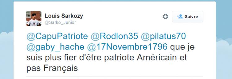sarkozy patriote US