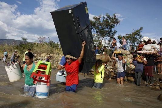 virer les colons c'est possible venezuela colombie
