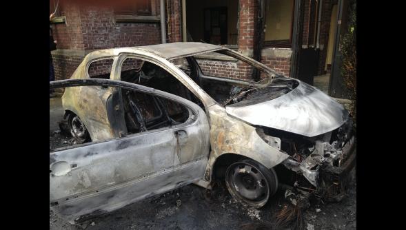 À Roubaix occupée l'ancien couvent des Clarisses incendié