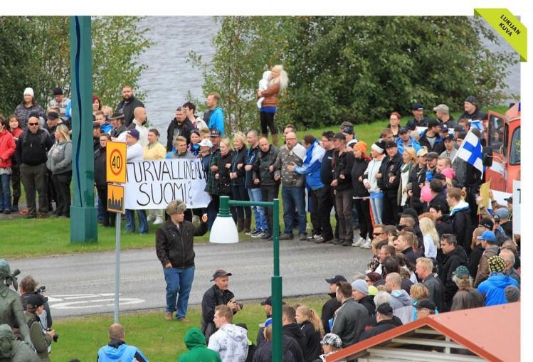Finlande manifestation contre l'invasion 092015 (2)