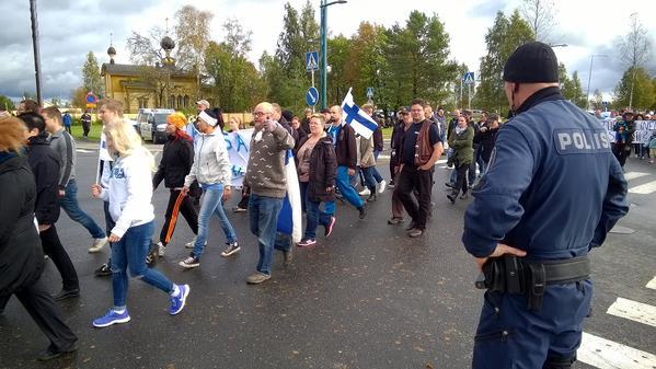 Finlande manifestation contre l'invasion 092015 (7)
