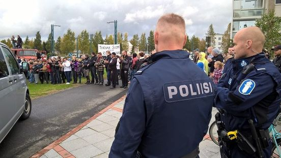 Finlande manifestation contre l'invasion 092015 (8)