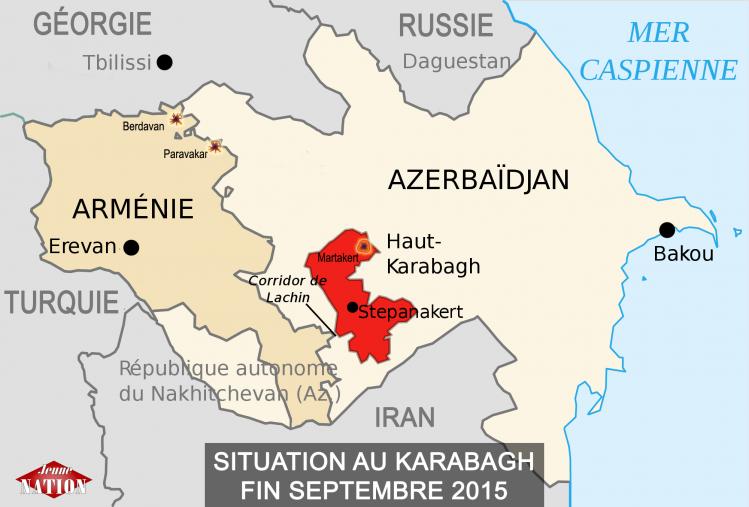 Haut-Karabagh-incidents septembre 2015