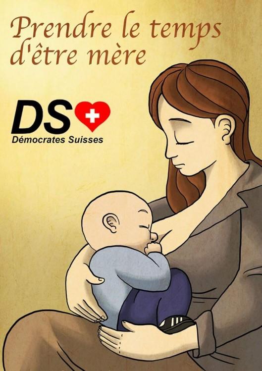 L'Artiste mal pensant prendre le temps d'être mère