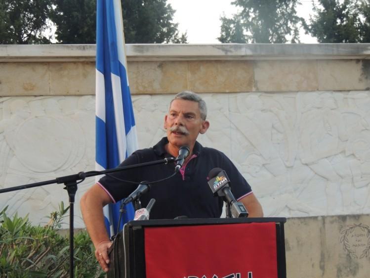 Le général Eleftherios Synadinos