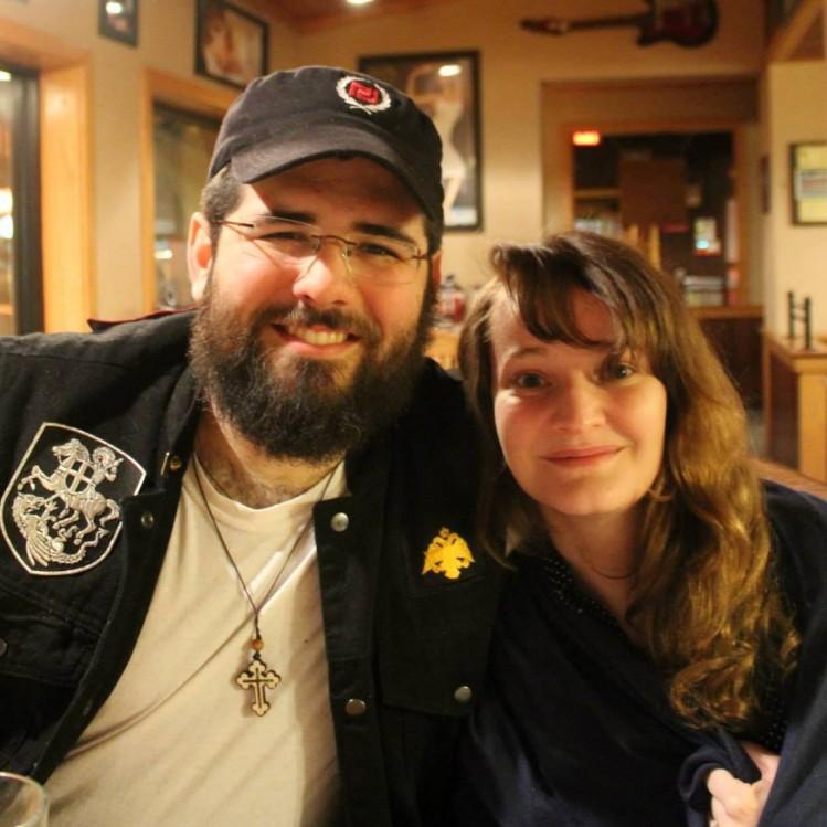 Matthew Heimbach et son épouse.