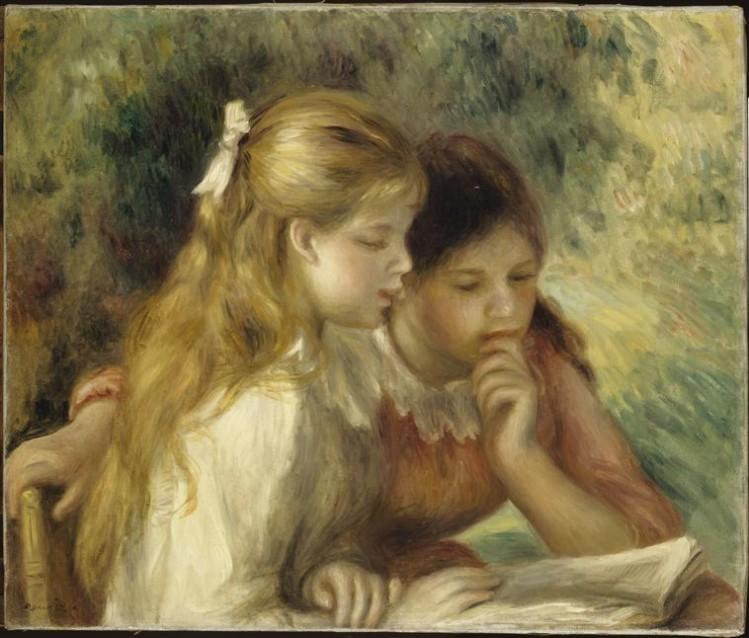 Auguste Renoir, La Lecture (1865)