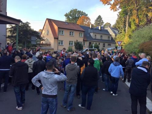 Chemnitz manifestation contre l'invasion 1