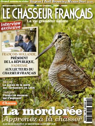 Couverture-Le-chasseur-Francais_françois hollande