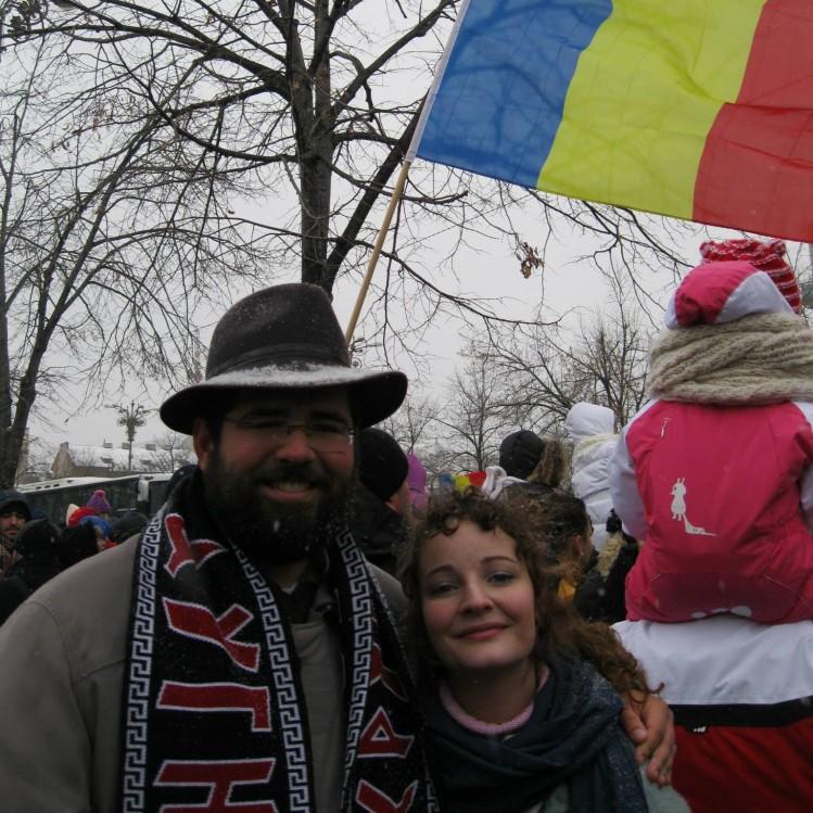 Matthew Heimbach et sa femme se sont rendu en Roumanie pour rendre hommage a Codreanu