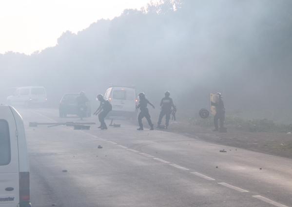 Tsoundzou - émeute octobre 2015