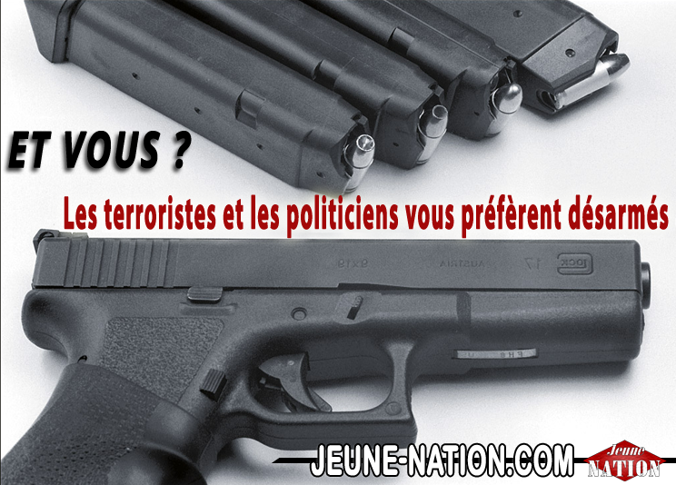 a-legitime defense arme droit 8 LONG terroristes et politiciens