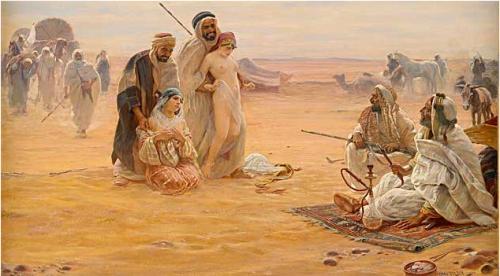 Blanches esclaves des subhumains