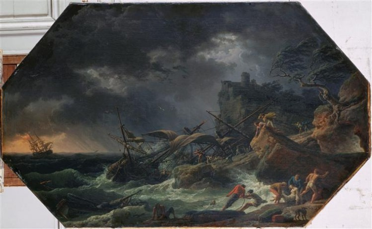 Joseph Vernet, Les Quatre parties du jour - le midi ou la tempête, 1762