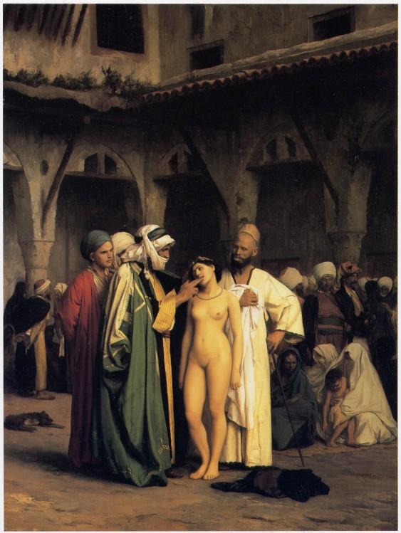 Le Marché d'esclaves Jean-Léon Gérôme  1866