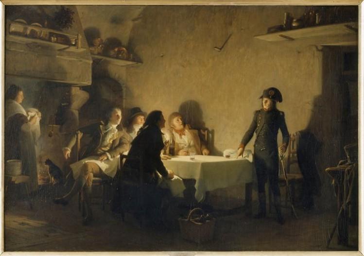Lecomte du Noüy Jean Jules Antoine, Le Souper de Beaucaire