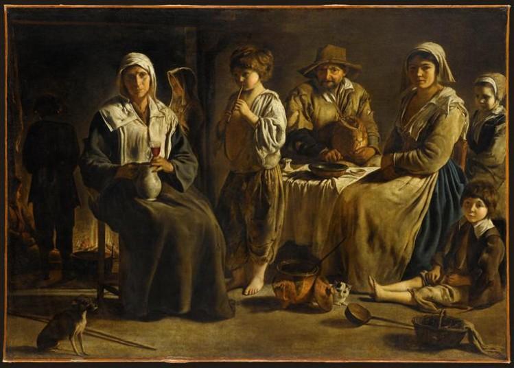 Louis Le Nain, Famille de paysans dans un intérieur