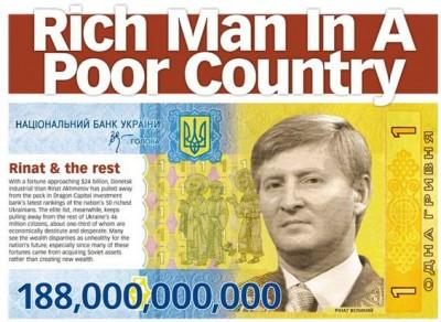 Homme riche, pays pauvre