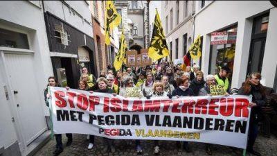 Belgique_Anvers_Pegida