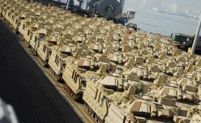 USA_brigade_mecanisée_Europe_Est_Russie